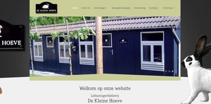 Nu Online De Nieuwe Website Van De Kleine Hoeve