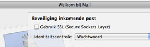E-mail Instellen Mail Voor MAC