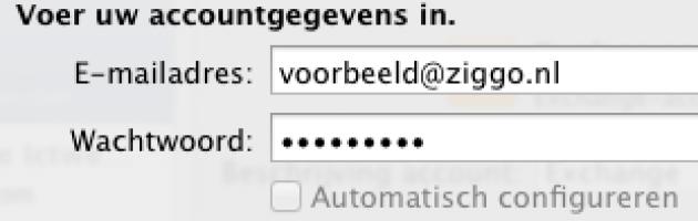 E-mail Instellen Outlook For MAC 2011