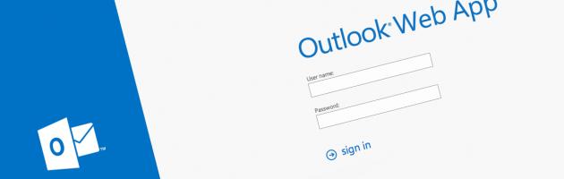 Outlook Web App 2013 630×200
