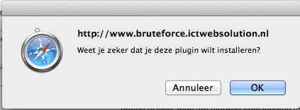Wordpress BruteProtect Plugin installatie 5