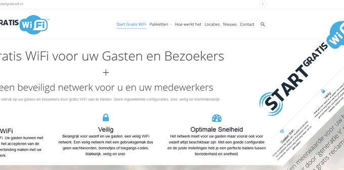 Nieuwe Website StartGratisWiFi