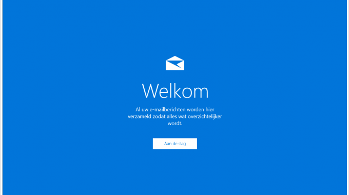 Windows 10 Mail App Instellen – [POP/IMAP]
