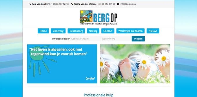 Nieuwe Website Bergop Nu Online