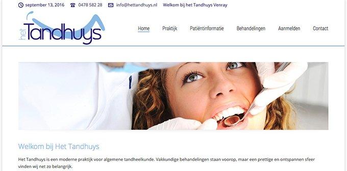 Nieuwe Website Het Tandhuys Nu Online