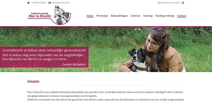 Nieuwe Website Dier In Kracht Online